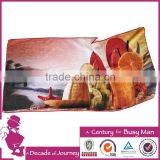 made in china promotional multi-functiona custom digital print cotton beach towels                                                                                                         Supplier's Choice