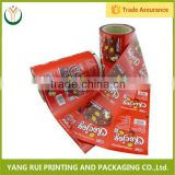 Good quality biscuit plastic film roll,plastic film roll for agriculture,cereal bar plastic film roll