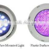 IP68 Plastic / Stainless Steel Surface Mounted LED Swimming Pool Light/ Wall mounted pool light