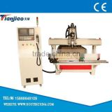 1530 woodworking cnc router cnc engraving and cutting machine one spindle 8 tools automatic changing with Syntec system