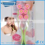 Dahoc hand held face facial roller massage stick