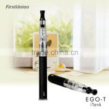 Best vaporizer ego-t itank vapor stick electronic cigarette 650/1000mAh ego battery with LED switch button e smokes