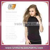 Stan Caleb Custom Moisture Wicking Dri-FIT girls womens Compression Wear Sports Shirts And Tights shorts