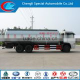 China manufacturer 6x4 bulk powder goods tanker 30m3 cheap 3 axle bulk powder goods tank truck cement bulker