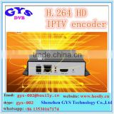 Professional H.264 HD Encoder for IPTV, Live Stream Broadcast, Video Encoder