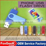 100% Real Capacity NEW OTG USB flash drive colorful pen drive 4GB 8GB 16GB 32GB metal usb stick Support Smart phone PC U disk