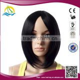 Wholesale price High Temperature Fiber Cheap hair bun wig synthetic