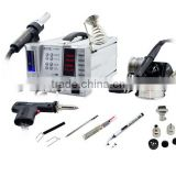4 in 1 Multi function system station for Aoyue Int2703A+ ,Soldering iron +Hot air +smoke absorber+de-soldering gun