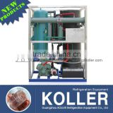 5 tons Tube Ice Making Machine with packing system for drinks from Koller ice machine manufacturer