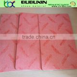 Running shoes material nonwoven insole board for shoe insole