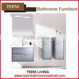 Teem Bathroom 2016 new design white bathroom storage cabinet discounted bathroom vanities