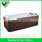 Factory 2015 Endless Swim Spa Whirlpool Spa Outdoor Large Big Size Swimming Pool