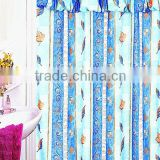 2013 printed fancy shower curtain valance