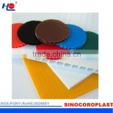 Fluted Plastic Coroplast Layer Pad