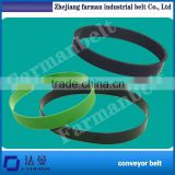 Rubber Ribbed Belt Standard Pu Timing Belt Flat Belt /Polyester tangential belt 2.4mm flat belt