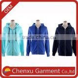 custom pullover blank wholesale plain hoodies custom zipper thick fleece hoodies for men bulk 100% cotton zip up hoodies