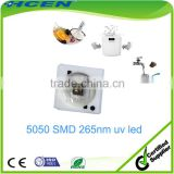 Wholesale factory price 5050 SMD 1W gerimicidal uv led 260nm 265nm uv led for sterilization