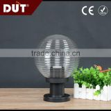 Zhongshan factory budget-priced acrylic plastic fence lampshade in globe shape
