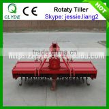 Farm equipment 3 point suspension rotary tiller for tractor