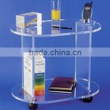 Acrylic Bar Trolley