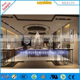 high quality jewelry store equipment small jewelry display cases with led light for jewelry showcase