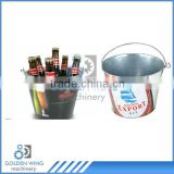Semi-automatic Tinplate Promotional /Metal Bucket Tin Can Machine Production Line