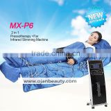 body massage & detox & slimming pressotherapy machine for lymphatic drainage , pressotherapy