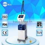 Tumour Removal Eye Wrinkle / Bag Removal Co2 Fractional Laser Equipment Beauty Warts Removal Parlor Instrument Fractional Mini Co2 Machine For Acne Treatment Mole Removal