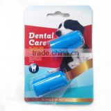 wholesale Pet Tooth Cleaning Animal Silicone Dog/pet Finger Toothbrush