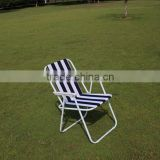 Printed folding camping chair, factory price backrest beach camping chair