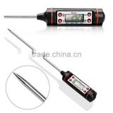 LCD wireless Digital Barbecue bbq Thermometer liquid Food Cooking Thermometer