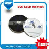 Blue ray disc recordable 25gb memory storage for vedio /audio / fiels /films