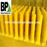 Yellow Powder Coated Steel Bollards