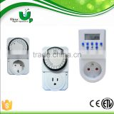 24 Hours Mechanical Single Outlet Timer/ Mechanical programmable timer