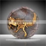 Artificial resin stegosaurus dinosaur fossils wall hangings for decoration