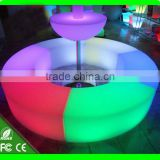 rgb illuminated light up glow long snake outdoor events garden party club plastic stool bar furniture chair led curved bench