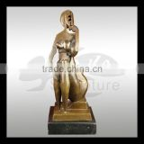 high quality bronze sculpture - copy rodin works eternal springtime bronze nude lover sculpture