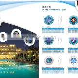 9w 12w 18w 24w 54w Stainless steel PC swimming pool decorative led lights