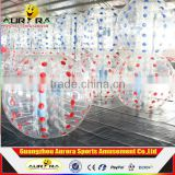 High quality outdoor inflatable giant bubble ball suit plastic bubble ball glass ball for sale