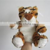 Toys for kids tiger hand puppets plush custom hand puppets