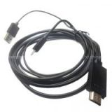 Hot sales MHL Micro USB to HDMI 1080P HDTV Adapter Cable For Samsung Galaxy S3 S4 Note2 Note 3