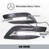Mercedes-Benz Viano DRL LED Daytime Running Lights Car headlight parts Fog lamp cover