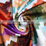Colorful joint printed modal fabric printing fabric
