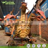 3 Head Animatronic Magic Dragon