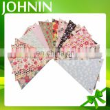 Eco-friendly custom design pennant triangle string flag paper bunting