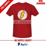 company logo printed round neck tshirt at low price