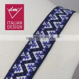 Hot sale jacquard ethnic ribbon trim wholesale