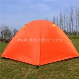 amping tent WJ High quality 2 person fiberglass double layer water proof partytent tents outdoor Camp Equipment