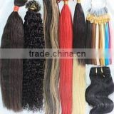 Hot sale Superior brazillian hair weavve/hair extension bulk
