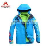 Breathable,Waterproof,Plus Size,Windproof Feature and OEM Service Supply Type active ski jacket for women
